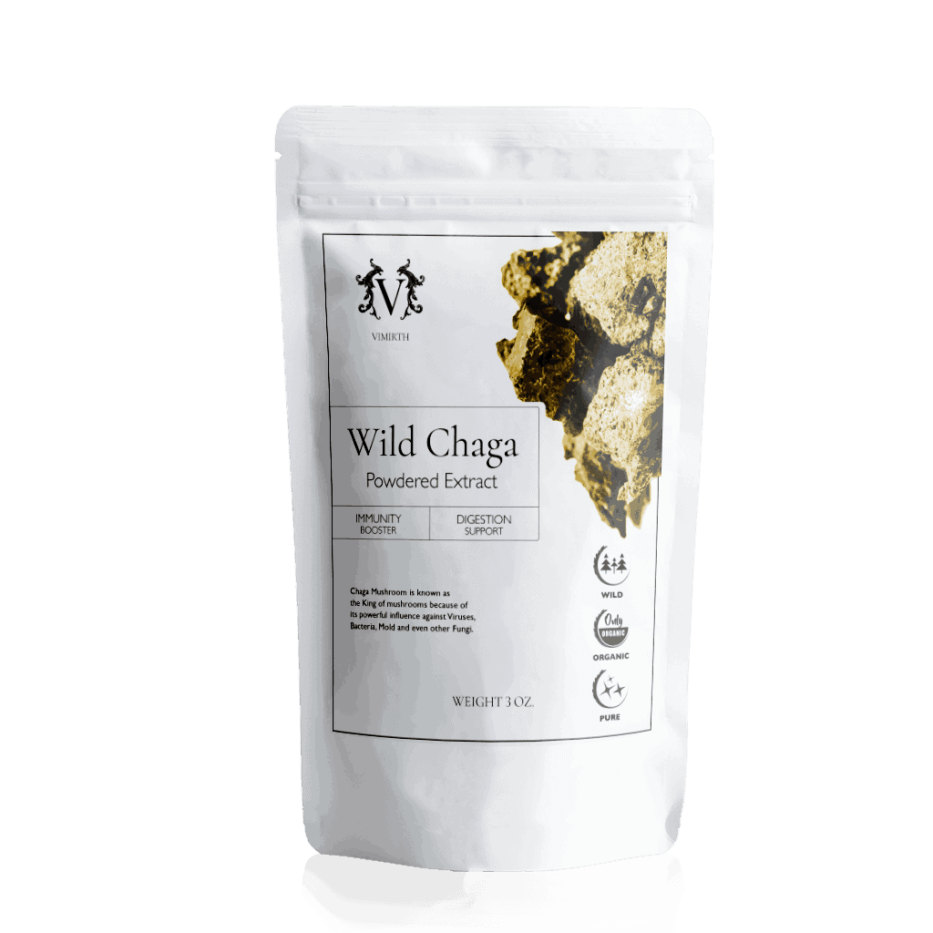 wild chaga powdered extract